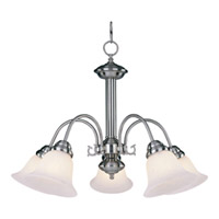 Maxim Lighting Malaga Energy Efficient 5 Light Down Light Chandelier in Satin Nickel 82698MRSN