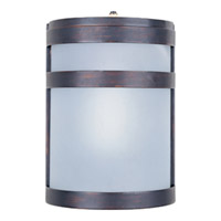Maxim Lighting Arc Energy Efficient 1 Light Outdoor Wall Mount in Oil Rubbed Bronze 85005FTOI