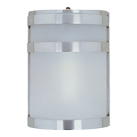 Maxim Lighting Arc EE 1 Light Outdoor Wall Mount in Stainless Steel 85005FTSST