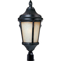 Odessa Energy Efficient 1 Light 21 inch Espresso Outdoor Pole/Post Lantern