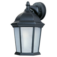 Maxim Lighting Builder Cast 1 Light Outdoor Wall Mount in Black 85024FTBK