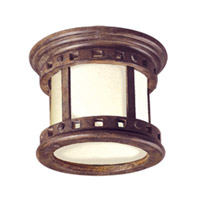 Maxim Lighting Santa Barbara EE 1 Light Outdoor Ceiling Mount in Sienna 85030MOSE