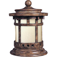 Maxim Lighting Santa Barbara Energy Efficient 1 Light Outdoor Deck Lantern in Sienna 85032MOSE