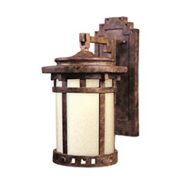 Maxim Lighting Santa Barbara Energy Efficient 1 Light Outdoor Wall Mount in Sienna 85034MOSE