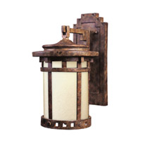 Maxim Lighting Santa Barbara Energy Efficient 1 Light Outdoor Wall Mount in Sienna 85035MOSE