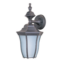 Maxim Lighting Madrona Energy Efficient 1 Light Outdoor Wall Mount in Rust Patina 85041RP