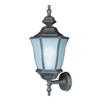 Maxim Lighting Madrona Energy Efficient 1 Light Outdoor Wall Mount in Rust Patina 85044RP