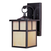 Maxim Lighting Coldwater Energy Efficient 1 Light Outdoor Wall Mount in Burnished 85053HOBU