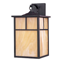 Maxim Lighting Coldwater Energy Efficient 1 Light Outdoor Wall Mount in Burnished 85054HOBU
