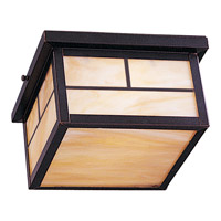 Maxim Lighting Coldwater Energy Efficient 2 Light Outdoor Ceiling Mount in Burnished 85059HOBU