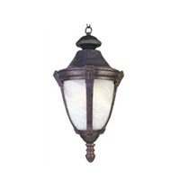 Maxim Lighting Wakefield EE 1 Light Outdoor Hanging Lantern in Empire Bronze 85078MREB