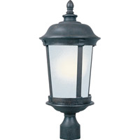 Maxim 85092FSBZ Dover Energy Efficient 1 Light 26 inch Bronze Outdoor Pole/Post Lantern