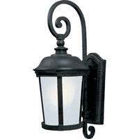 Maxim Lighting Dover Energy Efficient 1 Light Outdoor Wall Mount in Bronze 85094FSBZ