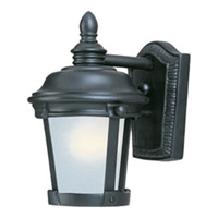 Maxim Lighting Dover Energy Efficient 1 Light Outdoor Wall Mount in Bronze 85096FSBZ