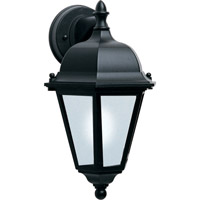 Maxim Lighting Westlake Energy Efficient 1 Light Outdoor Wall Mount in Black 85100BK