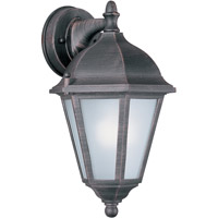 Maxim 85100RP Westlake Energy Efficient 1 Light 15 inch Rust Patina Outdoor Wall Mount