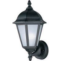 Maxim 85102BK Westlake Energy Efficient 1 Light 15 inch Black Outdoor Wall Mount