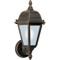 Maxim Lighting Westlake Energy Efficient 1 Light Outdoor Wall Mount in Rust Patina 85102RP
