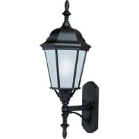 Maxim 85103BK Westlake Energy Efficient 1 Light 24 inch Black Outdoor Wall Mount