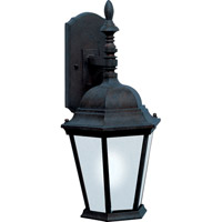 Maxim Lighting Westlake Energy Efficient 1 Light Outdoor Wall Mount in Black 85104BK