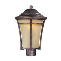 Maxim Lighting Balboa VX Energy Efficient 1 Light Outdoor Pole/Post Lantern in Copper Oxide 85160GFCO