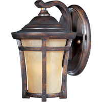 Maxim Lighting Balboa VX Energy Efficient 1 Light Outdoor Wall Mount in Copper Oxide 85162GFCO