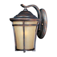 Maxim Lighting Balboa VX Energy Efficient 1 Light Outdoor Wall Mount in Copper Oxide 85163GFCO