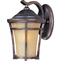 Maxim Lighting Balboa VX Energy Efficient 1 Light Outdoor Wall Mount in Copper Oxide 85164GFCO