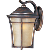 Maxim Lighting Balboa VX Energy Efficient 1 Light Outdoor Wall Mount in Copper Oxide 85165GFCO