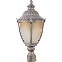 Morrow Bay Energy Efficient 1 Light 24 inch Earth Tone Outdoor Pole/Post Lantern
