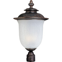 Cambria Energy Efficient 1 Light 15 inch Chocolate Outdoor Pole/Post Lantern