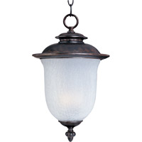 Maxim Lighting Cambria Energy Efficient 1 Light Outdoor Hanging Lantern in Chocolate 85199FCCH