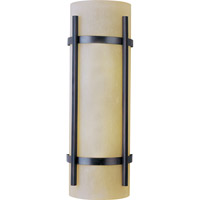 Maxim Lighting Luna Energy Efficient 2 Light Outdoor Wall Mount in Oil Rubbed Bronze 85219WSOI