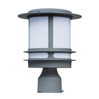 Maxim Lighting Oslo Energy Efficient 1 Light Outdoor Post in Platinum 85310WTPL