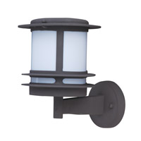Maxim Lighting Oslo Energy Efficient 1 Light Outdoor Wall Mount in Architectural Bronze 85312WTABZ