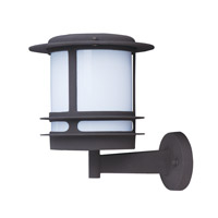 Maxim Lighting Oslo Energy Efficient 1 Light Outdoor Wall Mount in Architectural Bronze 85313WTABZ