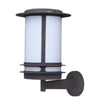 Maxim Lighting Oslo Energy Efficient 1 Light Outdoor Wall Mount in Architectural Bronze 85315WTABZ