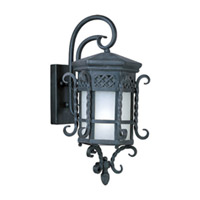 Maxim Lighting Scottsdale EE 1 Light Outdoor Wall Mount in Country Forge 85323FSCF