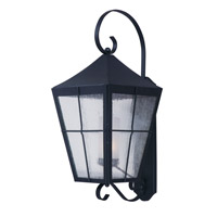Revere 1 Light 18 inch Black Outdoor Wall Mount