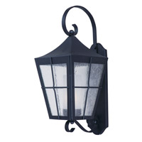 Maxim 85334CDFTBK Revere 1 Light 24 inch Black Outdoor Wall Mount