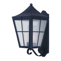 Maxim Revere 1 Light Outdoor Wall Mount in Black 85335CDFTBK