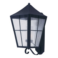 Maxim 85338CDFTBK Revere EE 1 Light 24 inch Black Outdoor Wall Mount
