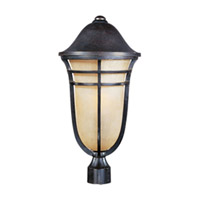 Maxim Lighting Westport VX Energy Efficient 1 Light Outdoor Pole/Post Lantern in Artesian Bronze 85400MCAT