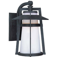 Maxim 85436SWAE Calistoga 1 Light 16 inch Adobe Outdoor Wall Lantern