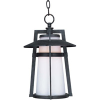 Maxim Lighting Calistoga 1 Light EE Outdoor Hanging Lantern in Adobe 85439SWAE