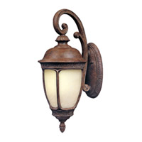 Maxim Lighting Knob Hill Energy Efficient 1 Light Outdoor Wall Mount in Sienna 85466SFSE