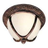 Maxim Lighting Knob Hill Energy Efficient 2 Light Outdoor Ceiling Mount in Sienna 85469SFSE