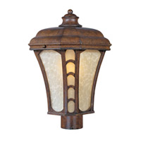 Maxim Lighting Lake Shore VX ES 1 Light Outdoor Pole/Post Mount in Antique Pecan 85480LTAP