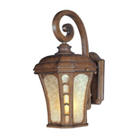 Maxim Lighting Lake Shore VX Energy Efficient 1 Light Outdoor Wall Mount in Antique Pecan 85483LTAP