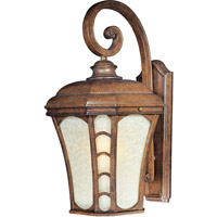 Maxim Lighting Lake Shore VX Energy Efficient 1 Light Outdoor Wall Mount in Antique Pecan 85485LTAP